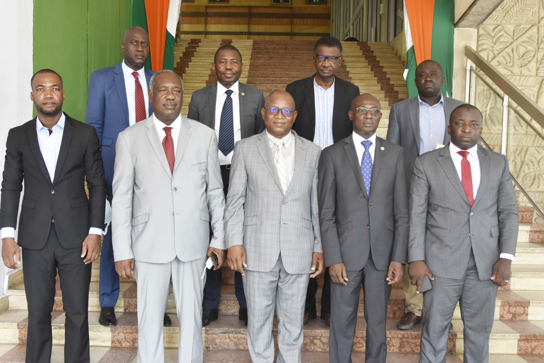 Coopération internationale: Des cadres du DAGL en mission d'étude au District Autonome d'Abidjan