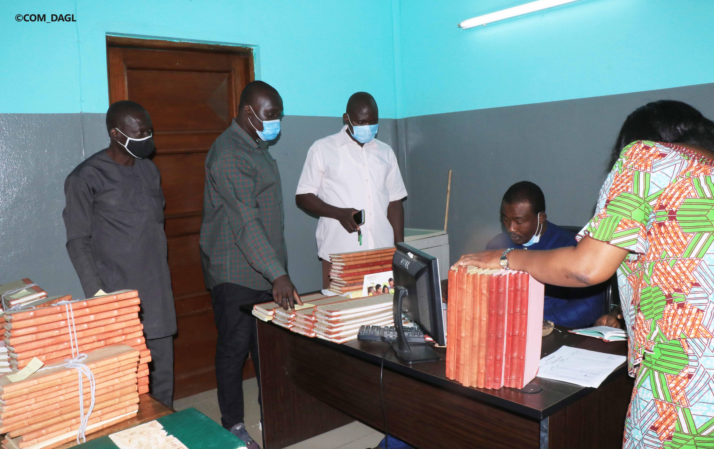L'inventaire et la collecte des registres d'état civil de l'ex Commune de Lomé entamés